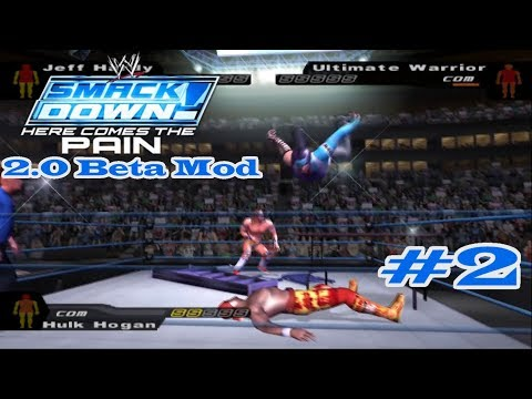 WWE SmackDown! Here Comes The Pain 2.0 Beta Mod: Matches #2