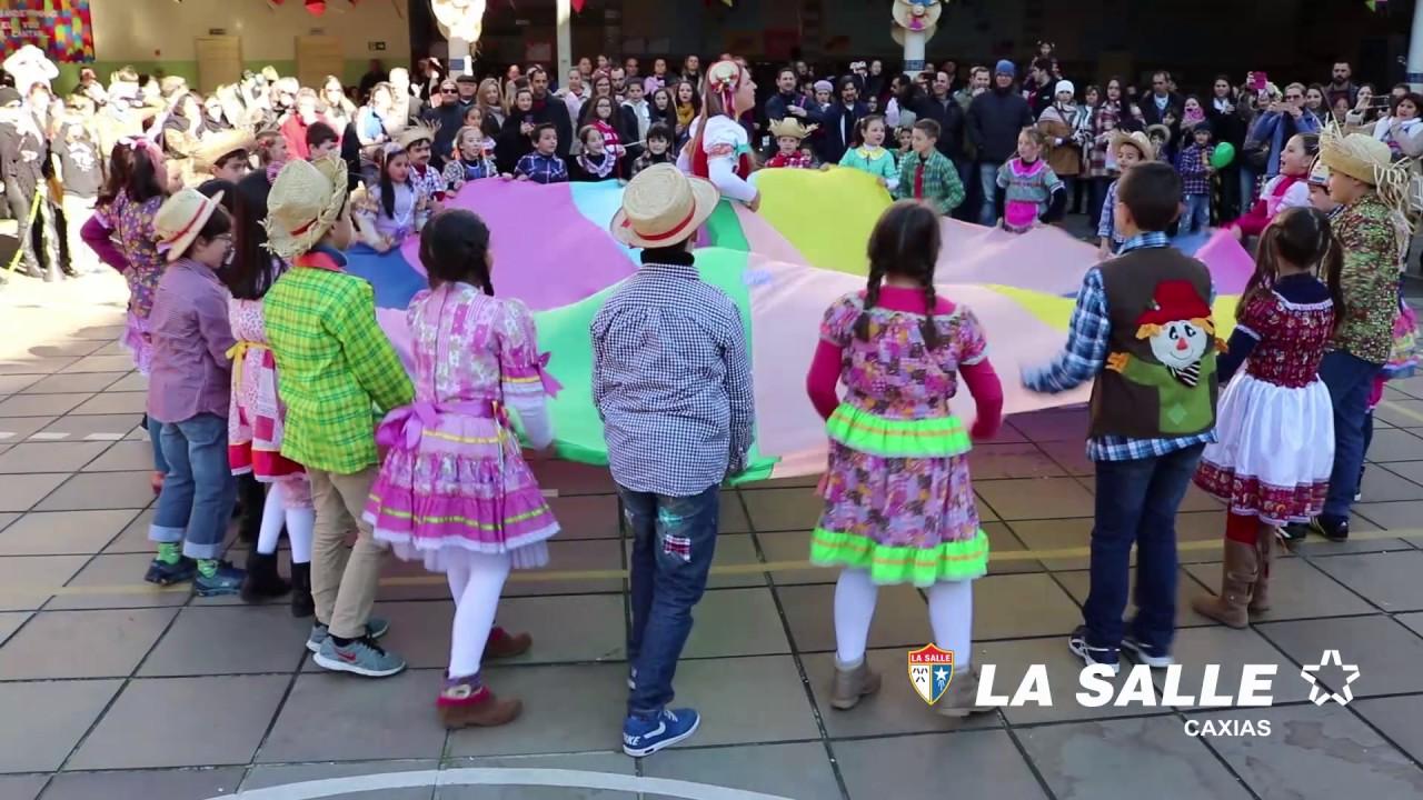 apresentação do 3° ano festa junina la salle caxias 2017 youtube