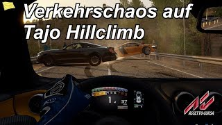 Verkehrschaos auf Tajo Hillclimb - Assetto Corsa - Mini Let's Play