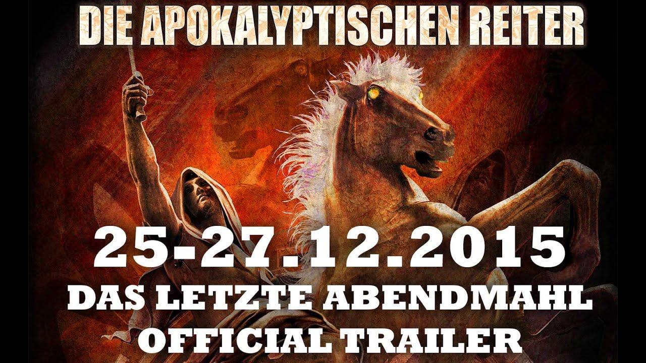 Die apokalyptischen reiter das letzte abendmahl 25 for Die apokalyptischen reiter
