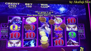 Akafuji Slot Jackpot Again Timber Wolf Deluxe 2c Slot Retrigger 36 Free Spins Bonus, San Manuel