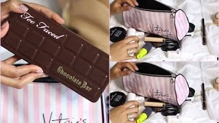 What's In My Travel Makeup Bag –  Wha't In My Travel Bag 2015 – MissLizHeart