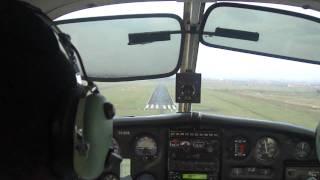 Kenya Pilot Roy Ndilo, Sipoche Wilson Airport Approach PA 28