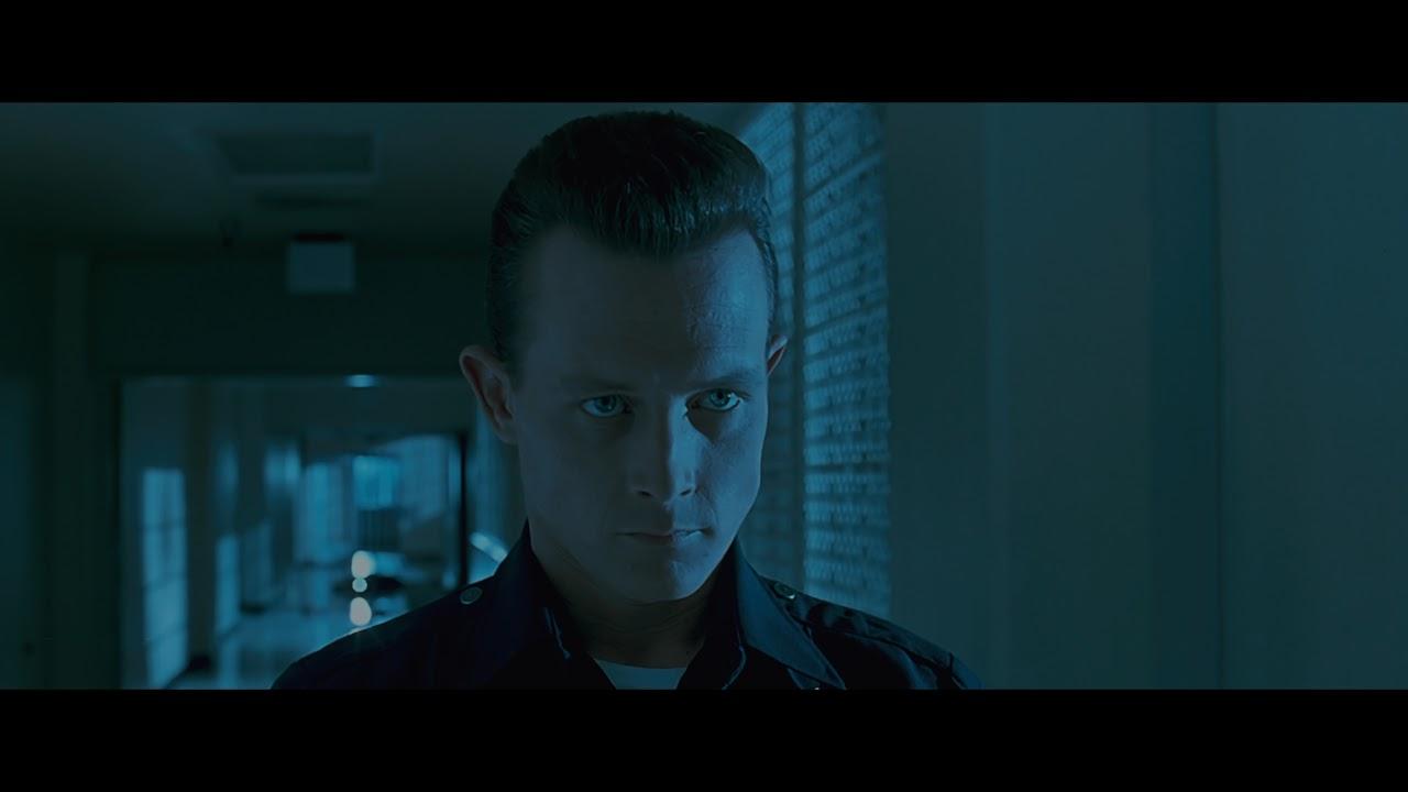 Terminator 2 Judgment Day 1991 Elevator Scene Youtube
