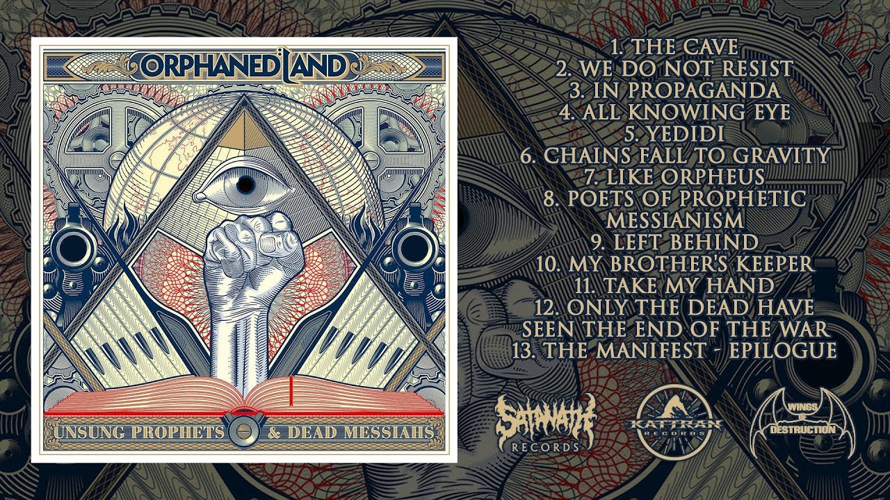 Orphaned Land - Unsung Prophets & Dead Messiahs [Preview]