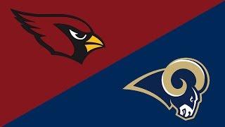 NFL Week 17 Preview: Arizona Cardinals/Los Angeles Rams