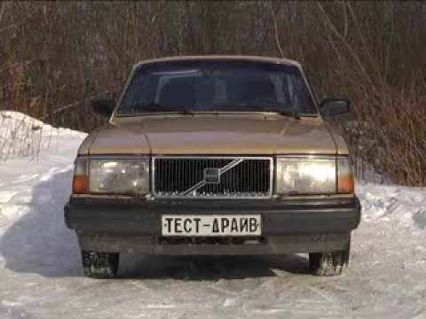 тест драйв Volvo 244
