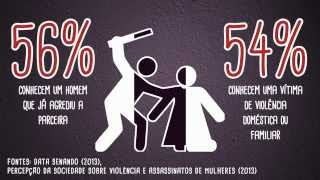 Violência contra a mulher no Brasil em Números