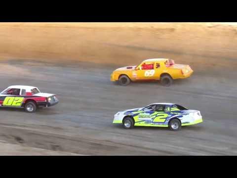 Desert Thunder Raceway I.M.C.A Stock Car Heat Races 4/14/18