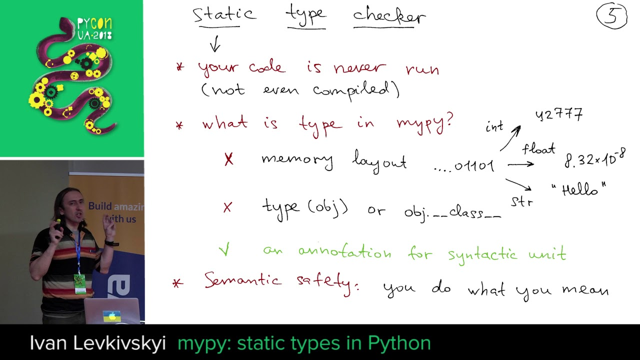 Image from mypy: static types in Python