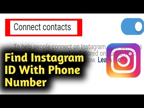 Find Instagram ID With Phone Number