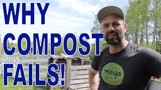 Why Compost Fails: Successful composting tips