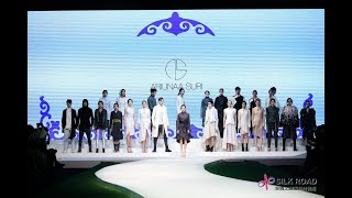 ARIUNAA SURI - SILK ROAD International Fashion Week 2017.Dec Chongqing China