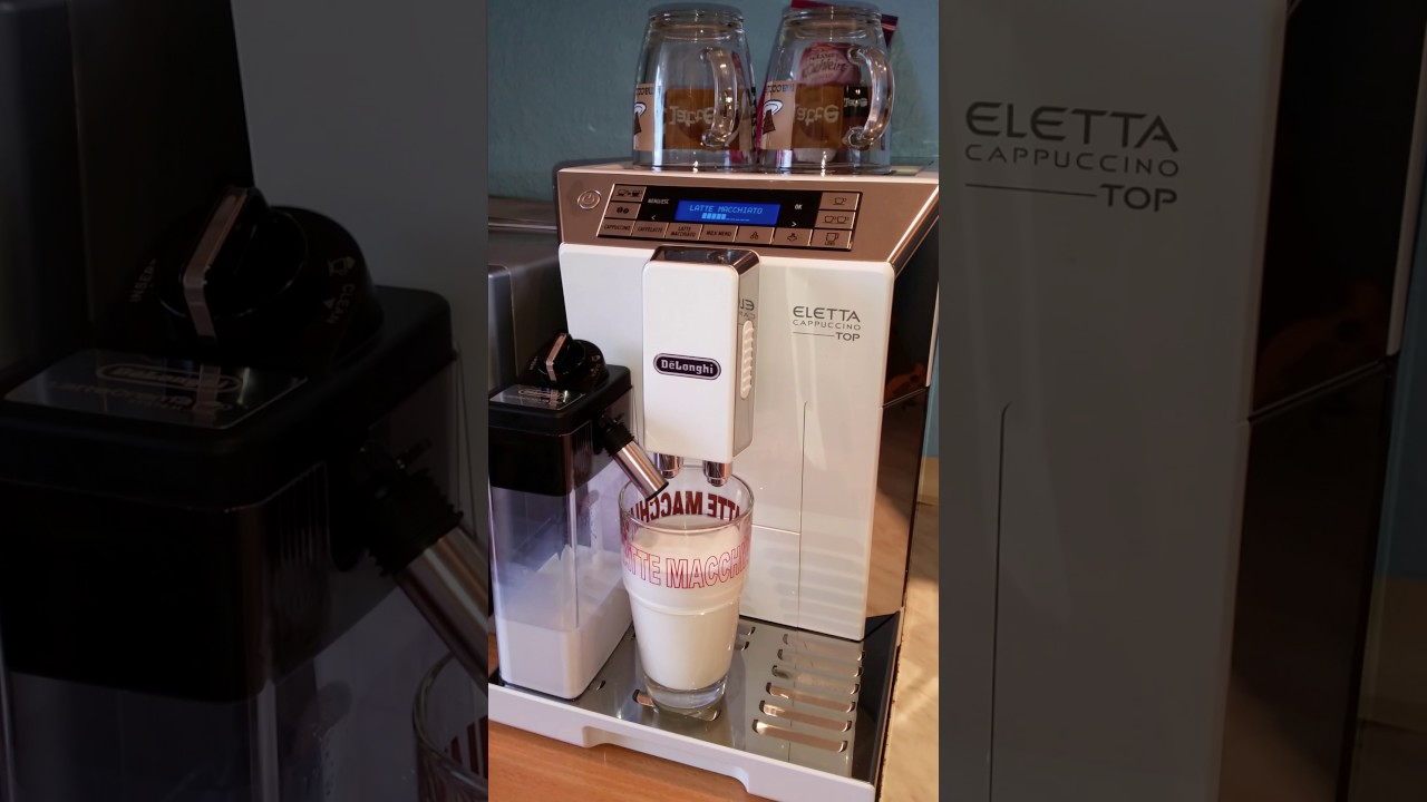 Expresso Broyeur Delonghi Ecam 23.440 Sb delonghi eletta top | machine à café automatique | le test