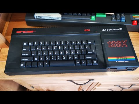 ZX Spectrum +3 Setup And Test