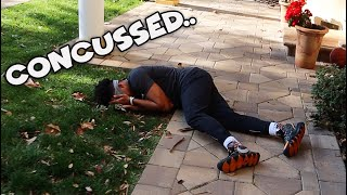 I Got A Concussion Filming A YouTube Video..