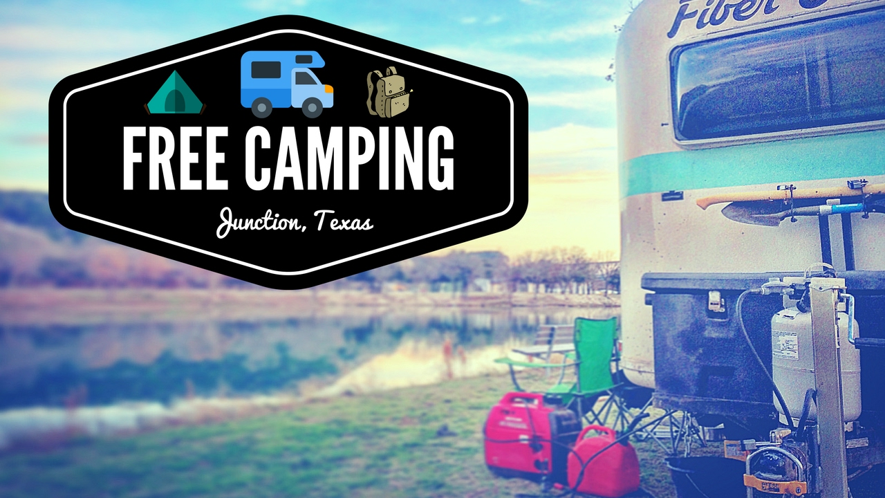 Free Camping in Junction, TX 💯🌞🚐 Full Time RV Living   Van Boondocking &  RV Dry Camping in Texas