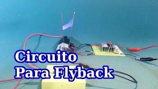 Como Conectar un Flyback para Producir Alto Voltaje thumbnail