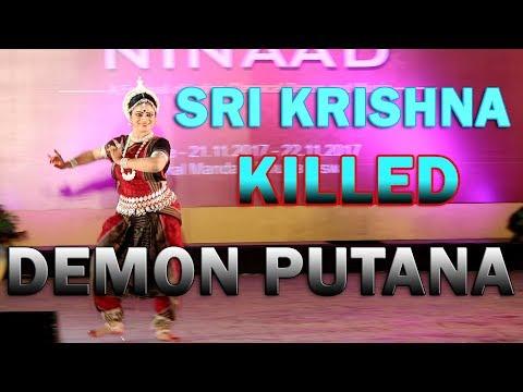 Putana badha by Sri Krishna story odissi dance (Chhanda ninaad)2017