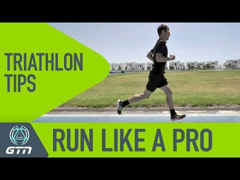 How To Run Like A Pro | Running Tips For Triathletes