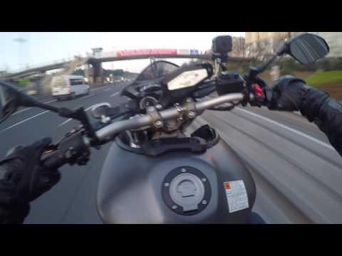 Evrak Yetişmesi Lazım Dediler // Tek Teker Kurye -- Full Adrenalin // Yamaha Mt-09