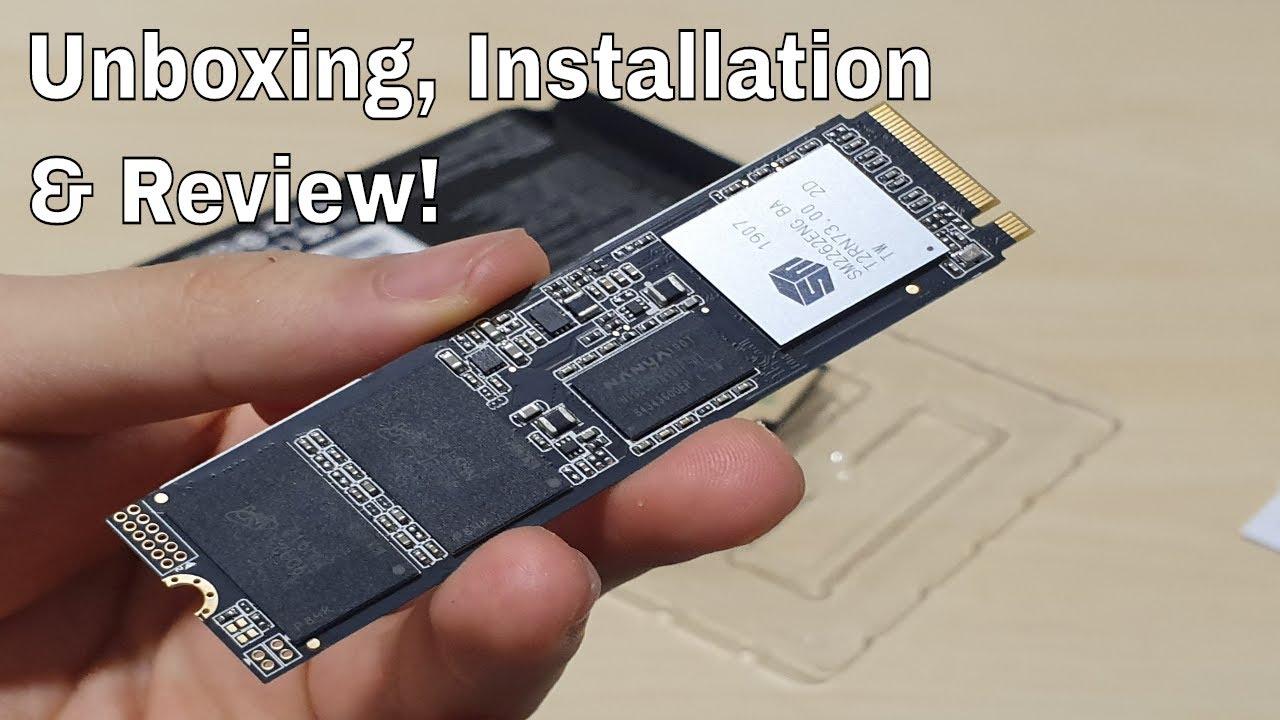 ADATA XPG SX8200 Pro: Unboxing, Installation & Review