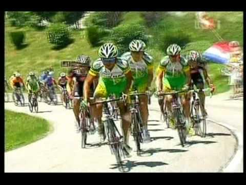 Floyd Landis Le Tour 2006 - post St17