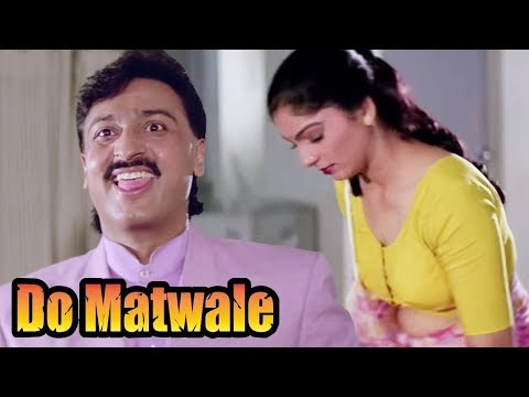 Gulshan Grover get fascinated by a Woman - Bollywood Movie Scene | Do Matwale