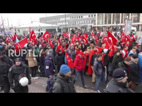 Germany: Turkish nationalists rally against PKK in Dortmund