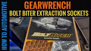 GearWrench Bolt Biter Extraction Sockets