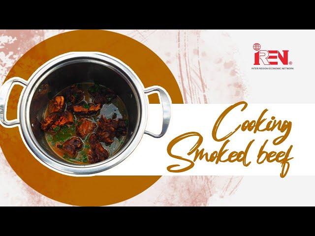 Eshihango Recipe | Smoked Beef