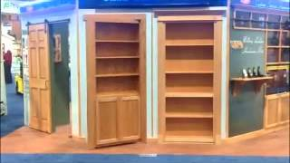 Invisidoor: Hidden Door Bookcase