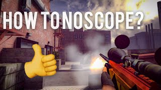 Critical Ops How to Noscope? Best Sniping Map? (MY SETTINGS)!