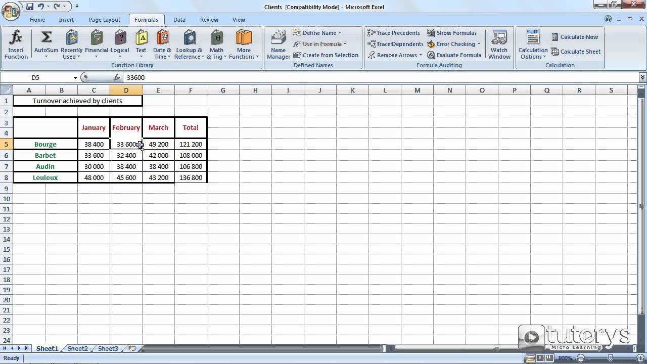 How to use the calculation options with Excel 10