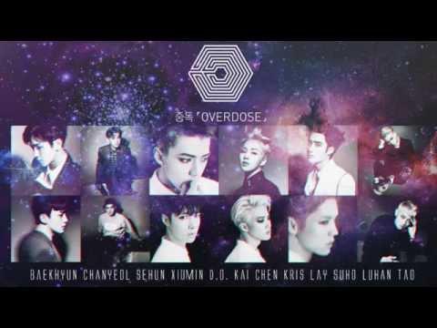 EXO Overdose + Wolf REMIX [Instrumental]