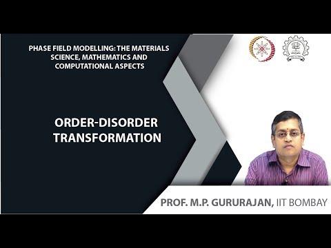 Order-disorder transformation