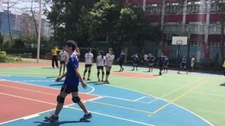 2017 全港學界閃避球錦標賽 中學混合組 沙循 對 八三