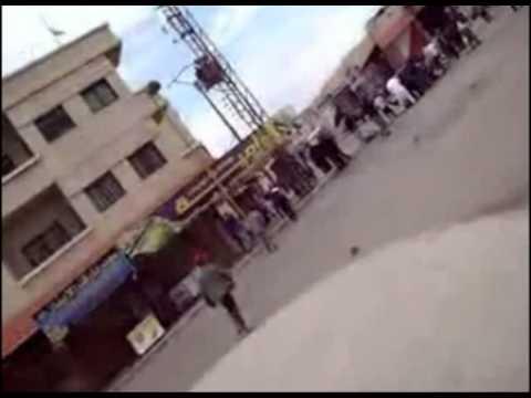 SUBTITLED Massacre in Daraa, Syria, April 22, 2011