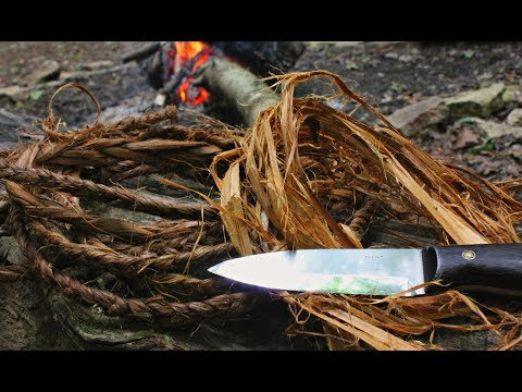 How To Make Natural Cordage From Cedar Bark