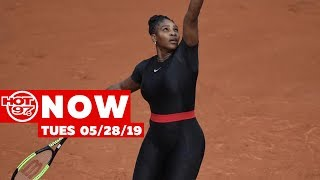 Serena Williams Makes Bold Fashion Statement + Meek Mill Cosmopolitan Hotel Situation On Hot 97 Now