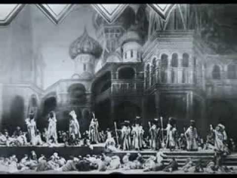 Mussorgsky 'Coronation Scene' - Stokowski conducts