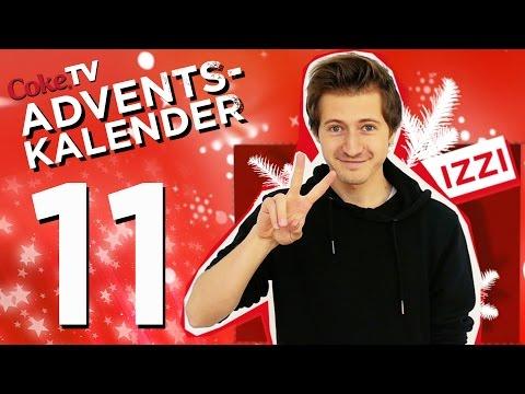 CokeTV Adventskalender: Türchen 11 mit izzi | #CokeTVMoment
