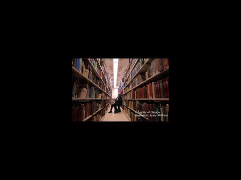 미국 시카고대 도서관 백색소음  1시간 :: Library ASMR  at the  University of Chicago
