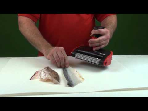 The skinzit on walleye crappie bluegill youtube for Skinzit fish skinner