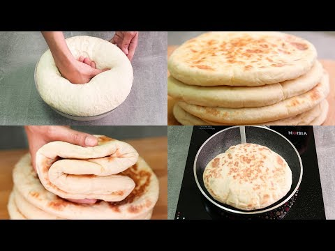 EGGLESS BUTTER NAAN RECIPE IN PAN I WITHOUT TANDOOR OR OVEN