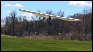 Super Goat Motorglider first flights