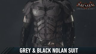 SKIN; Batman; Arkham Knight; Grey & Black Nolan Suit