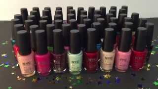 Nail Polish Collection Featuring NYC