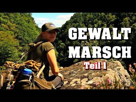 GEWALTMARSCH durch den deutschen Dschungel Teil 1