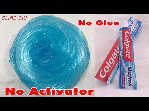 How to make slime very easy without borax and activator